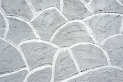 Textures on a gray wall Royalty Free Stock Images