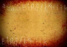 Textures grunges et milieux Photo stock