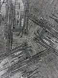 Textures grunges noires fraîches d'encre Photo libre de droits