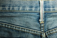 Textures of jeans. Denim jeans textures background blue Royalty Free Stock Photography
