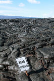 Textures of lava in Hawaii Royalty Free Stock Photo