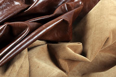 Textures of leather Royalty Free Stock Photo