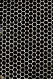 Textures - metallic _ grid Stock Photography