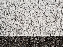textures of old wall surface painted with white paint and covered with cracks stock photography
