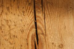 Detailed closeup of wooden board texture. Textures and patterns close up concept. Detailed closeup of brown wooden board texture Stock Images