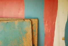 Textures in pink and turquoise Royalty Free Stock Photos