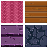 Textures for Platformers Icons Vector Set of Stone Stock Images