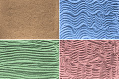 Textures of sand Stock Photos