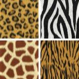 Textures sans couture de fourrure Photographie stock libre de droits