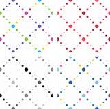 Textures sans joint colorées artistiques Images stock