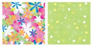 textures sans joint des fleurs Photos libres de droits