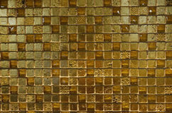Textures - Shiny Golden Tiles Stock Photos