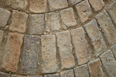 Textures of stone pathway. Stock Image