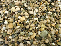 Textures stones pebbles Stock Photography