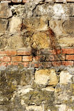 Textures sur le mur Photos stock