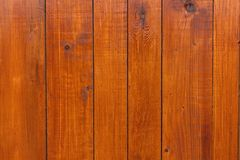 Textures of varnished wood plank wall closeup for background.  royalty free stock photography