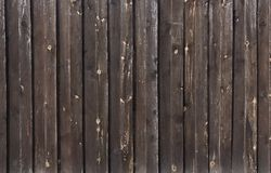 Textures of varnished wood plank wall closeup for background stock photo