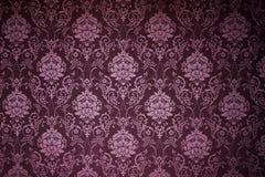 textures victorianwallpaperen Royaltyfria Bilder