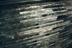 Texturexponeringsglas mosaik Sammansättningen av exponeringsglaset royaltyfri bild