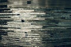 Texturexponeringsglas mosaik Sammansättningen av exponeringsglaset stock illustrationer