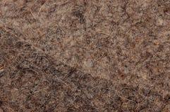 Texturfiltbrunt med en samkopiering på annan liknande textur Arkivbilder