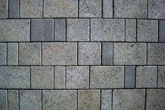 Texturice el pavimento de piedra de pavimentación del fondo, grande de la losa, calle peatonal fotografía de archivo libre de regalías