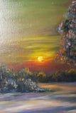 Texturice la pintura al óleo, flores, arte, imagen pintada del color, pintura, Imagen de archivo libre de regalías