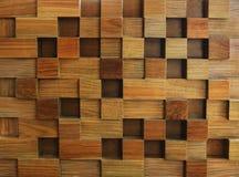 Texturizado del uso de madera del fondo del cubo para la forma multiusos y Imagenes de archivo