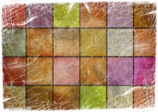 Texturized chess board background. Texturized abstract chess board background Stock Images