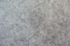 Texturized grijze stopverf Uitstekende of grungy achtergrond van Venetiaanse gipspleistertextuur als patroonmuur Royalty-vrije Stock Afbeelding