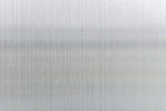 texturmetallbakgrund av den borstade stålplattan Fotografering för Bildbyråer