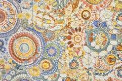 Texturmodell av den keramiska tegelplattan Fotografering för Bildbyråer