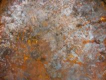 Texturrost på metall Bakgrund arkivbilder