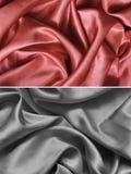 Textursatäng, silke Arkivbild