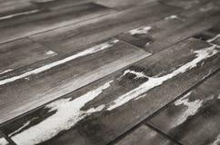 Texturträplankor på en diagonal Arkivbild