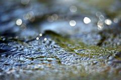 Texturvatten för makro Royaltyfria Foton