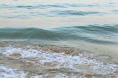 Texturvatten på havet Royaltyfri Fotografi