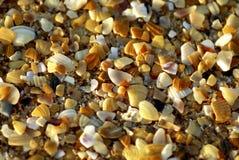 Textuur 2 van het strand Stock Foto