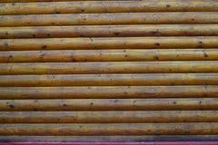 Textuur: aardige houten logboeken royalty-vrije stock fotografie