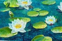 Textuur, achtergrond Het schilderen op canvas met olieverven wordt geschilderd die stock afbeelding
