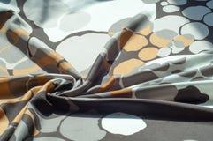 Textuur, achtergrond, patroon Abstract patroon op een zijdestof, Stock Afbeeldingen