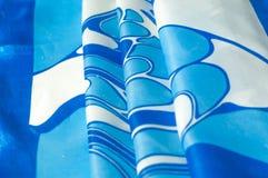 Textuur, achtergrond, patroon Een zakdoek van de vrouwen` s zijde sjaal Stock Fotografie