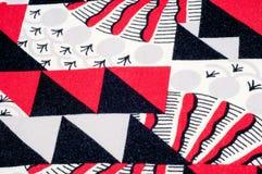 Textuur, achtergrond, patroon Gebreide stof van abstract ontwerp Royalty-vrije Stock Fotografie