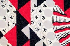 Textuur, achtergrond, patroon Gebreide stof van abstract ontwerp Stock Afbeelding