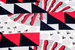 Textuur, achtergrond, patroon Gebreide stof van abstract ontwerp Royalty-vrije Stock Afbeelding