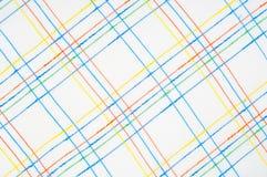 Textuur, achtergrond, patroon overhemd Blauwe witte roze groen Fabr Stock Afbeelding