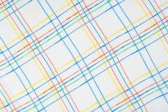 Textuur, achtergrond, patroon overhemd Blauwe witte roze groen Fabr Royalty-vrije Stock Afbeeldingen