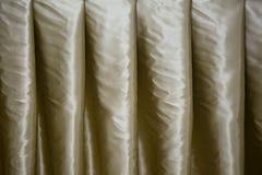 Textuur of Achtergrond van gordijn of gordijn Royalty-vrije Stock Fotografie