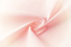Textuur achtergrondpatroon Doekkatoen Wit in rode strepen Royalty-vrije Stock Afbeeldingen