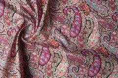 Textuur achtergrondpatroon Het uitstekende bloemen etnische motief van Paisley Royalty-vrije Stock Afbeeldingen